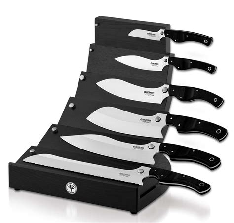 boker offers kitchen knife boker gorm knife set black by