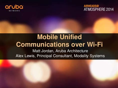 mobile unified communications mobile unified communications wi fi