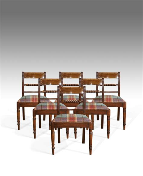 6 chair dining set set of 6 antique dining chairs 6 regency dining chairs