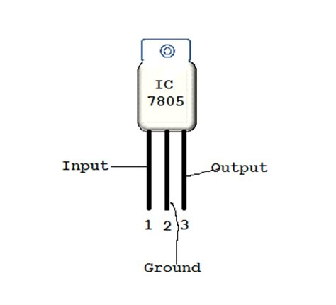 7805 large output capacitor 5v power supply using 7805 ic from 230v ac mains my circuits 9