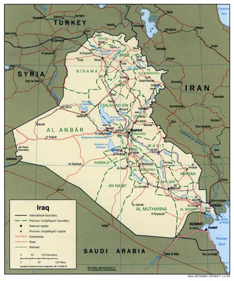map of iraq cities detailed political and administrative map of iraq with