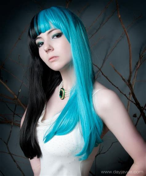 split hair color stuff i like