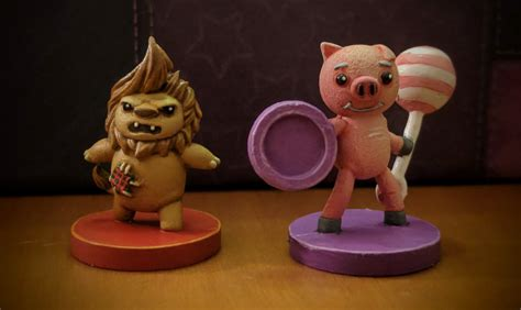 Stuffed Fables painting stuffed fables lionel