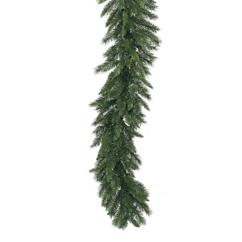 Outdoor Pre Lit Garland - shop vickerman 9 ft indoor outdoor imperial pine