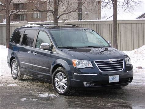 chrysler town and country canada test drive 2008 chrysler town country limited autos ca