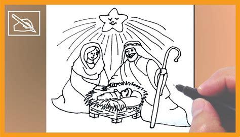imágenes de navidad para dibujar fáciles c 243 mo dibujar un nacimiento de navidad how to draw a