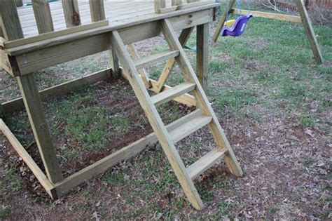 swing set steps how to build a diy wooden playground playset
