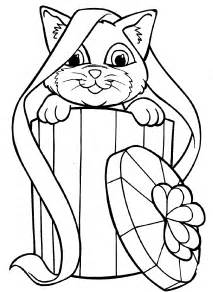 coloring pages of cats kitten coloring pages free large images