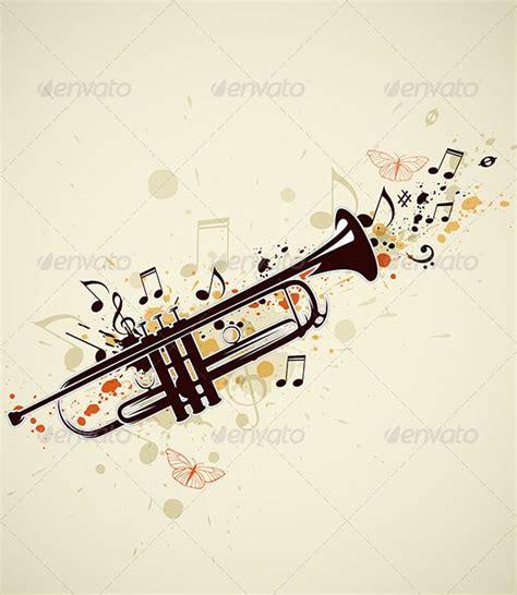 trumpet tattoo designs best 25 trumpet ideas on trumpets