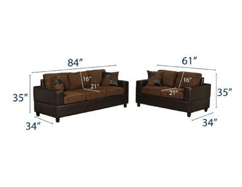 microfiber sofa and loveseat set bobkona seattle microfiber sofa and loveseat 2 piece set
