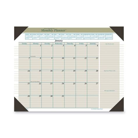 Monthly Desk Pad by Monthly Desk Pad Best Home Design 2018