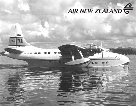 flying boat nz teal now air new zealand zk amo flying boat from the