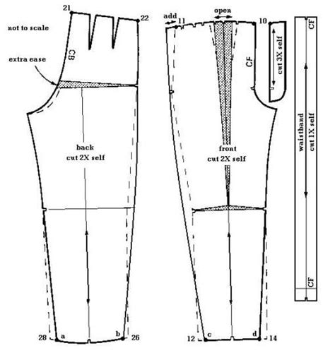 pattern drafting mens jeans 29 best images about zoot suit on pinterest the talk