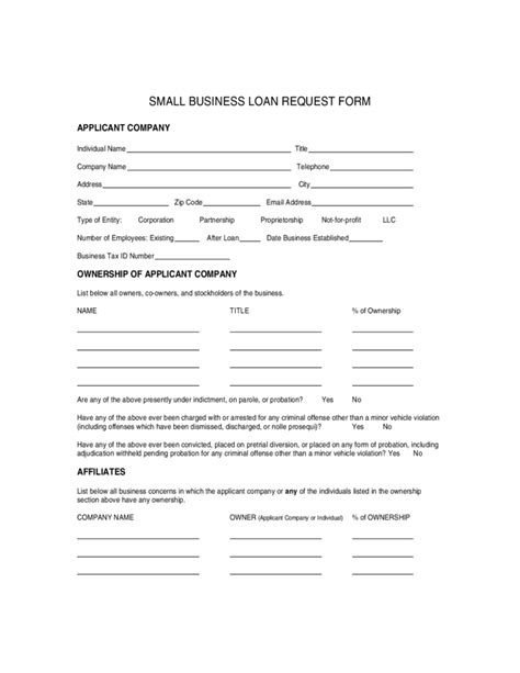 small business loan template small business loan application template viplinkek info