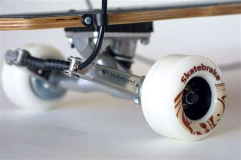 longboard skateboard with brake longboard skateboard brake safe braking system have fun