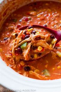 my favorite slow cooker chicken chili recipe sallys