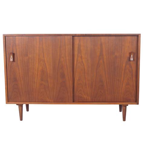 Sideboards Vintage vintage walnut sideboard by stanley for sale at 1stdibs