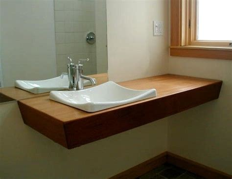 Vanity Slab by Crafted Mahogany Slab Vanity By Cove Design Custommade