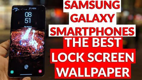 samsung galaxy smartphones    lock screen