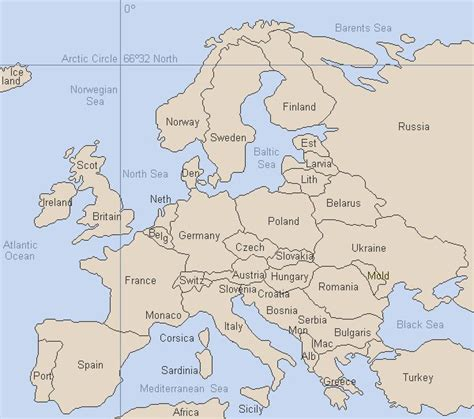 europe map now maps of europe