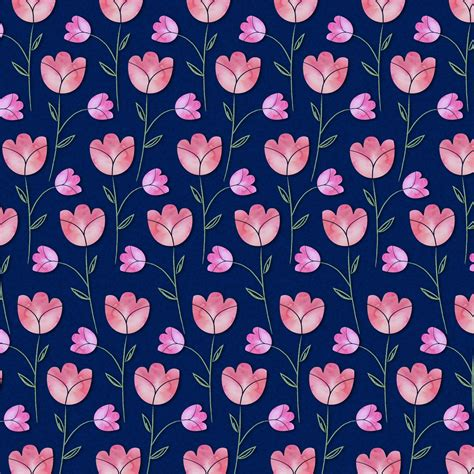 watercolor pattern flower watercolor flowers pattern free stock photo public