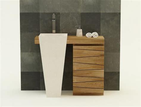 Merveilleux Meuble Sous Vasque Salle De Bain Leroy Merlin #5: meuble-de-salle-de-bain-salerne-l100-cm-en-teck-ig-65.jpg