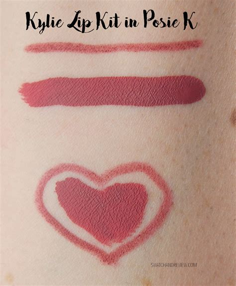 Lip Kit Posie K Ready Stock review giveaway cosmetics lip kit in posie k swatch and review