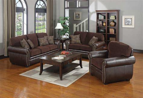 chocolate brown sofa set florence chocolate brown transitional style sofa set