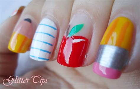 Nail Designs For The Day Of School