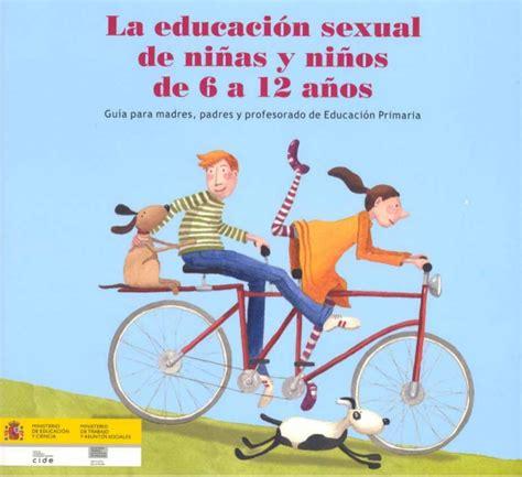 imagenes educativas de sexualidad educacion sexual para ni 241 os 6 a 12 a 241 os
