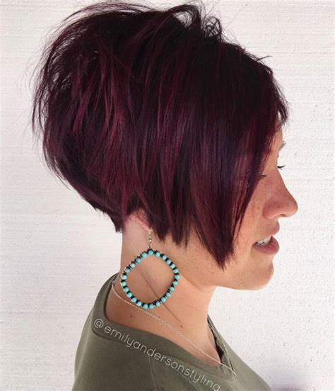 spiky top inverted bob 70 pixie cut ideas for 2017 short shaggy spiky edgy