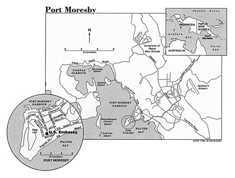 port moresby map nationmaster maps of papua new guinea 28 in total