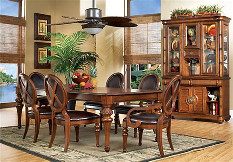 home key west pine 5 pc dining room w