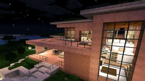 minecraft modern house  modernes haus hd youtube