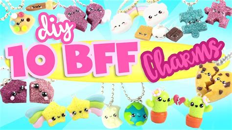 10 Fab Gifts For Your Bff by 10 Bff Diy S Polymer Clay Compilation 2