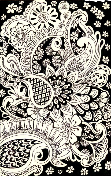 Drawing Zentangle by Zentangle Doodles