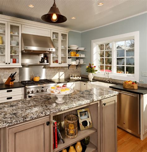 """""""Modern"""" Country Kitchen Traditional Kitchen dc metro by Harry Braswell Inc."""