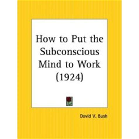 subconscious worlds relax your mind into a cosmic journey of coloring creations subconscious sketches coloring books volume 2 books how to put the subconscious mind to work by david v bush