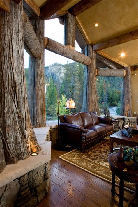 beautiful log home interiors log cabin interiors beautiful rustic design and
