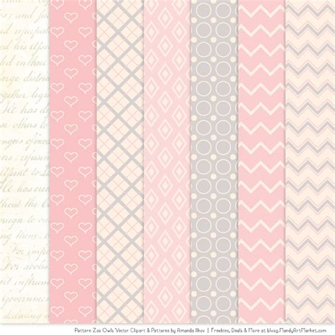 pink pattern clipart soft pink patterned owl clipart patterns