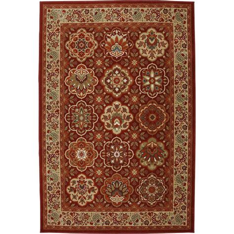 american rugs american rug craftsmen copperhill madder brown 3 ft 6 in x 5 ft 6 in accent rug 432492 the