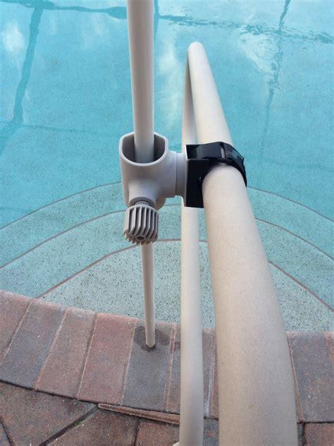 boat rail umbrella pool rail umbrella holder anchor strapshade