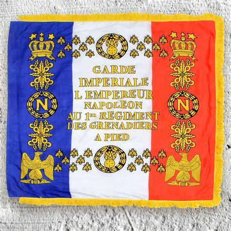 lme de napolon french b00ed7y3tk napoleonic 1st regiment grenadier cotton flag w fringe atlantacutlery com