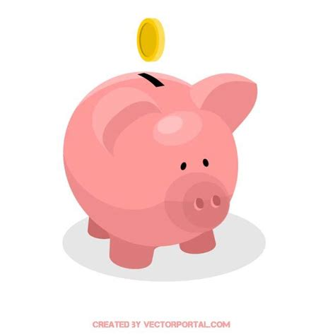 piggy bank in piggy bank money clipart