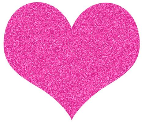 Sparkly heart clipart 7