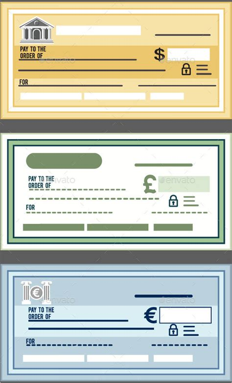 6 Blank Cheque Sles Sle Templates Blank Personal Check Template