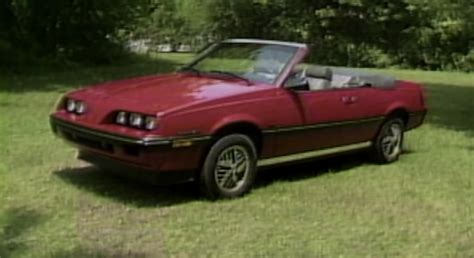 1985 pontiac sunbird convertible 1985 pontiac sunbird turbo convertible retro review gm