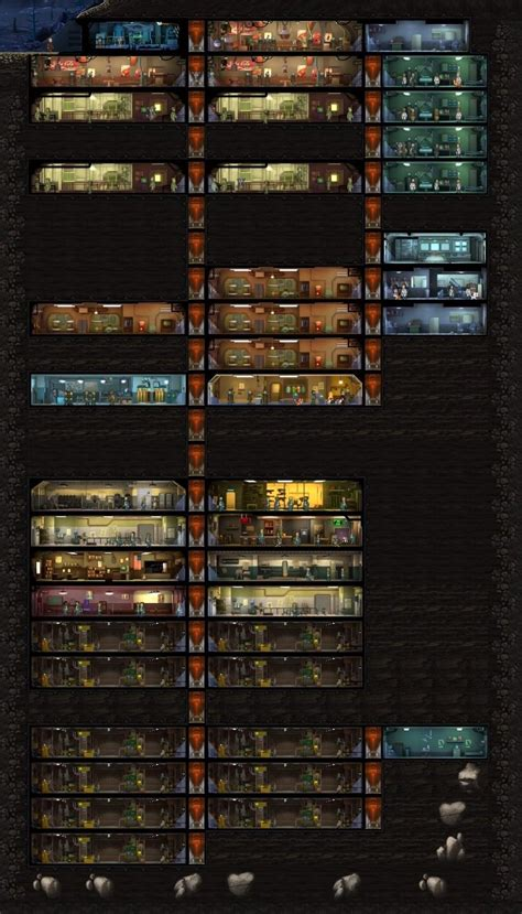 fallout shelter layout guide reddit i d like to discuss my vault layout design choices might