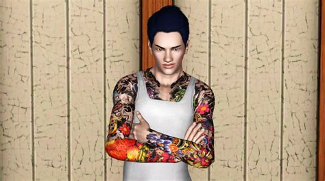 Yakuza Tattoo Sims 4 | mod the sims vicent jin yakuza