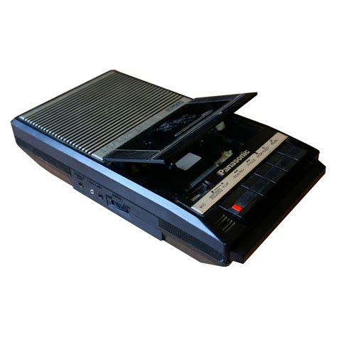 cassette player portable prop hire panasonic rq 2104 slimline ac battery portable